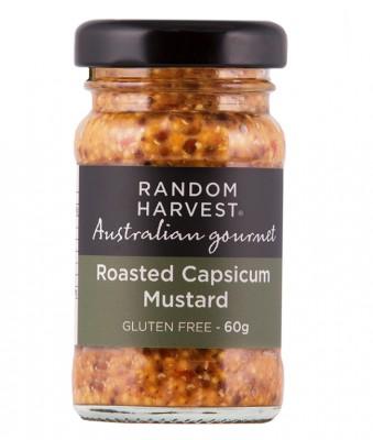 Random Harvest Roasted Capsicum Mustard 60g