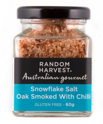 Random Harvest Oak Smoked Salt with Chilli