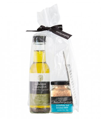 Random Harvest Olive Oil Snow Flake Salt Pack 1