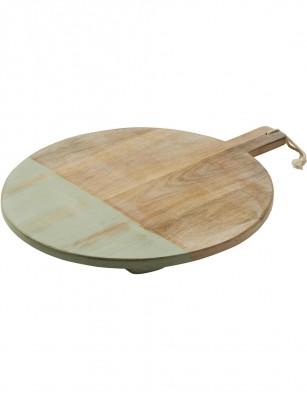 Tara Dennis Coast Mango Wood Round Board 45cm