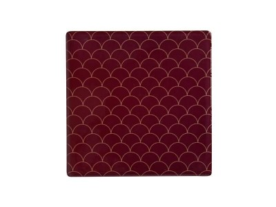 Maxwell & Williams Tessellate Ceramic Square Tile Coaster Neptune 9.5cm | DU0043