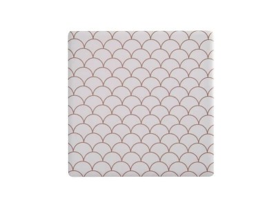 Maxwell & Williams Tessellate Ceramic Square Tile Coaster Neptune 9.5cm | DU0044