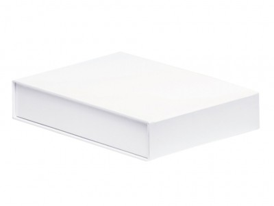 The GIFT'D  A4 Document Box White Pack of 10