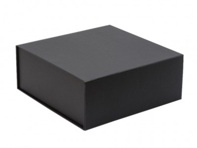 The GIFT'D  Medium 4s Hamper Box Black Pack of 10