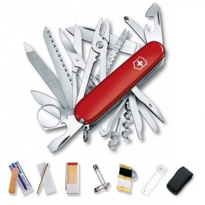 Victorinox Swiss Champ Deluxe Survival SOS Set Pocket Tool