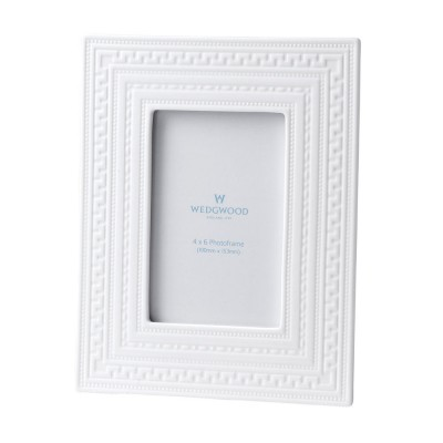 "Wedgwood Intaglio Giftware White Frame 4X6"" (10X15cm)-5"