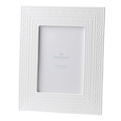 "Wedgwood Intaglio Giftware White Frame 5X7"" (12.5X18cm)-4"