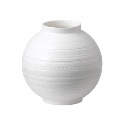 Wedgwood Intaglio Giftware White Vase 15cm-4