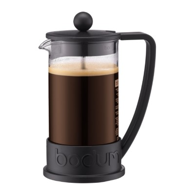 Bodum Brazil French Press coffee maker, 8 cup, 1.0 l, 34 oz Black