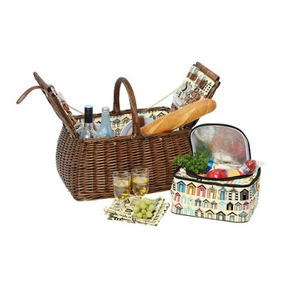 Avanti 4 Person Picnic Basket