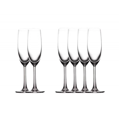 Maxwell & Williams Cosmopolitan Flute 160ml Set of 6 Champagne Glass