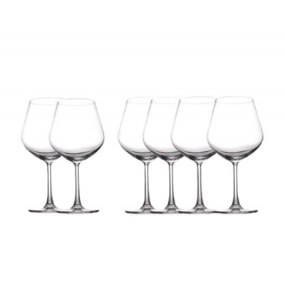Maxwell & Williams Cosmopolitan Burgundy 710ml Set of 6 Champagne Glass