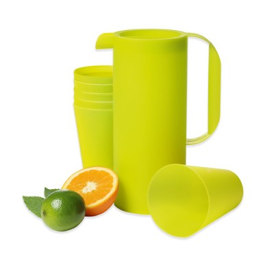 Avanti Assorted Pack of Water Pitcher with 6 Cups