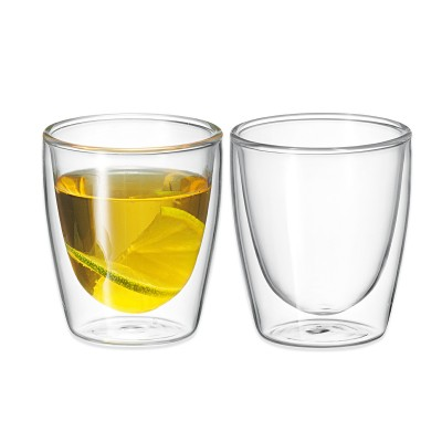 Avanti Caffe Twin Wall Glass 150ml - 2 Piece Set