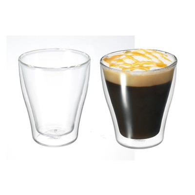 Avanti Modena Twin Wall Glass 250ml - 2 Piece Set