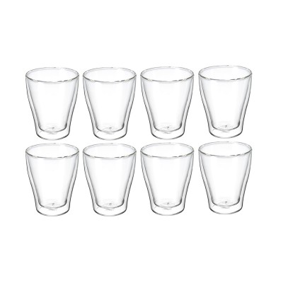 Avanti Modena Twin Wall Glass 250ml - 8 Piece Set