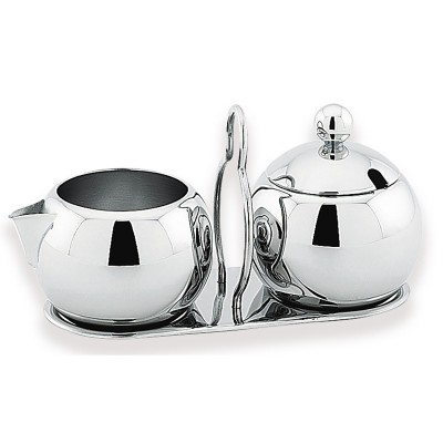 Avanti Mondo Sugar and Creamer 3 Piece Set