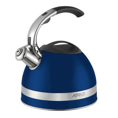 Avanti Stainless Steel Kettle 2.5 Litre Cobalt Blue