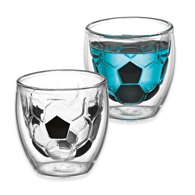 Avanti Take Your Best Shot Twin Wall Shot Glass 80ml - 2 Piece Set