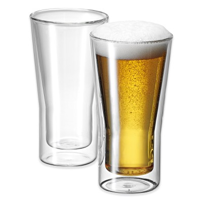 Avanti Uno Twin Wall Glass 350ml - 2 Piece Set