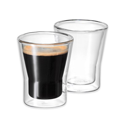 Avanti Uno Twin Wall Glass 80ml - 2 Piece Set