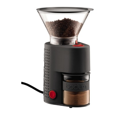 Bodum Bristro Electric coffee grinder black