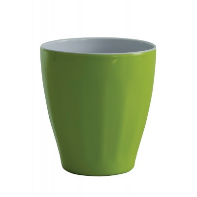 Avanti Boston Melamine Two tone Cup - Lime Green