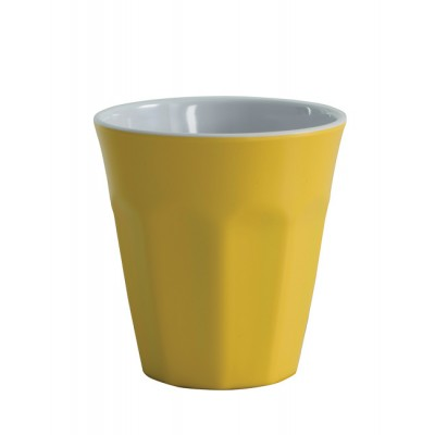 Avanti Cafe Melamine Two tone Cup - Yellow