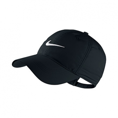 Nike Tech Swoosh Cap In Black