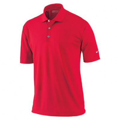 Nike Tech Solid Polo In Action Red - Mens