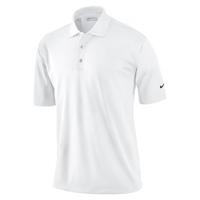 Nike Tech Solid Polo In White - Womens