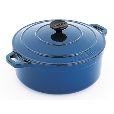 Chasseur Round French Oven 16cm Sky Blue