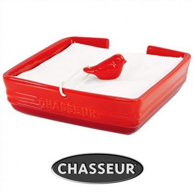 Chasseur Serviette Holder with Bird Weight