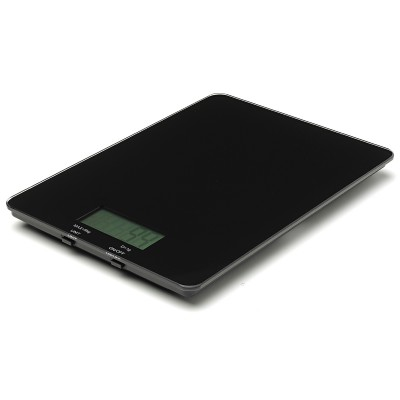 Avanti Digital Kitchen Scales - Black