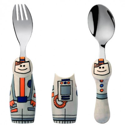 Eat4Fun Astronaut 2pc Set