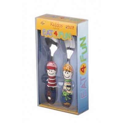 Eat4Fun Sam+Ben 2pc Set