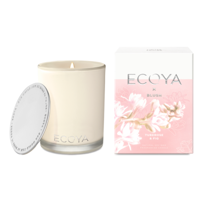 Ecoya X Blush - Tuberose & Fig Madison Jar
