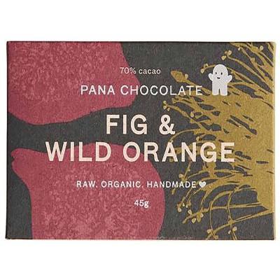 Pana Chocolate Fig & wild Orange 45G bar