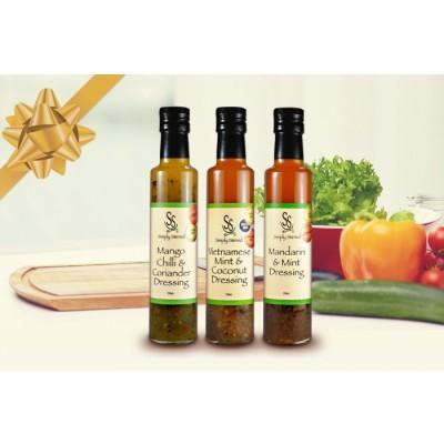 Gourmet Gift Gold Medal Medley – Salad Dressing 3 Pack