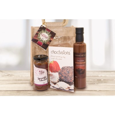 Gourmet Gift Tripple Chocolate Dessert Pack