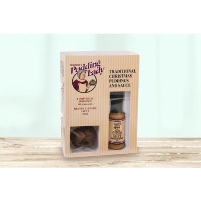Gourmet Gift Mini Pudding and Sauce Pack