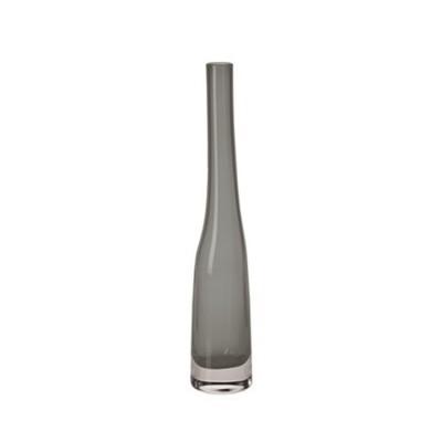 Krosno Sashay Bud Vase 38cm Smoke