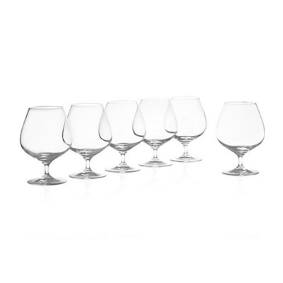 Krosno Set of 6 Vinoteca Brandy Glass