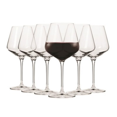 Krosno Set of 6 Flair Pinot Wine Glass 470ml