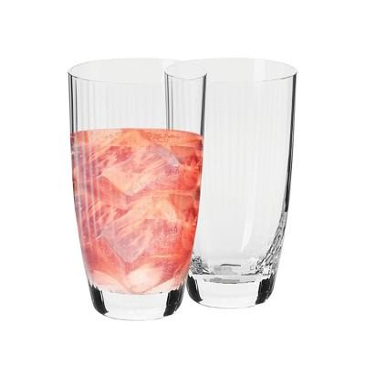 Krosno Set of 2 Opulence Hi-Ball Glass 380ml