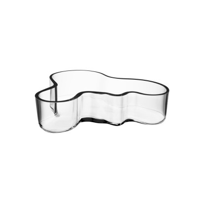 Iittala Aalto Bowl 19.5x5cm Clear Mouth Blown