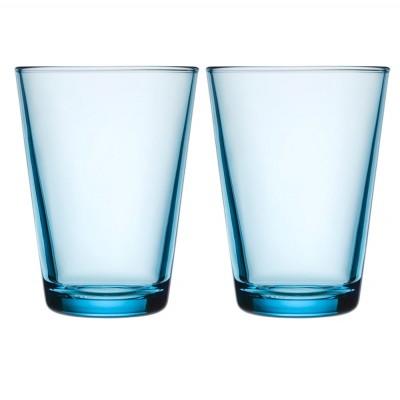 Iittala Kartio Highball 400ml Light Blue Pair