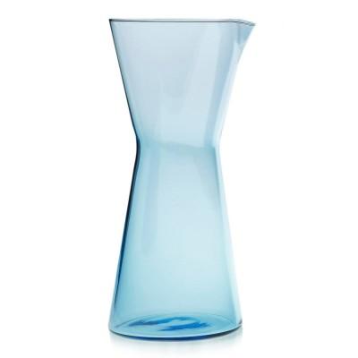 Iittala Kartio Pitcher 950ml Light Blue, Mouth Blown
