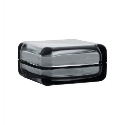 Iittala Vitriini Box 10.8cm Grey