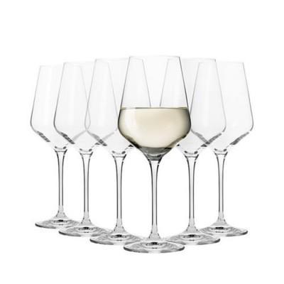 Krosno Set of 6 Flair Chardonnay Wine Glass 460ml